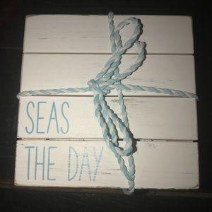 mudpie Seas the Day 4 piece coaster set